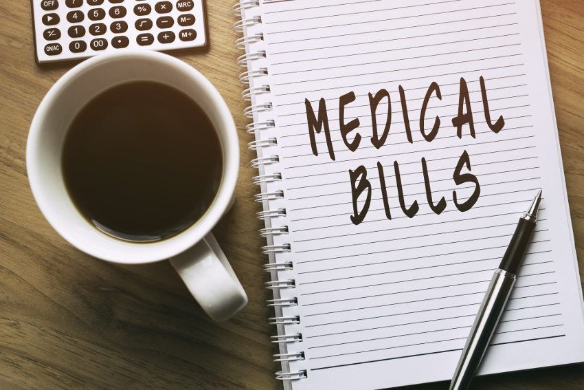 medical bills and bankruptcy advice from a bankruptcy lawyer