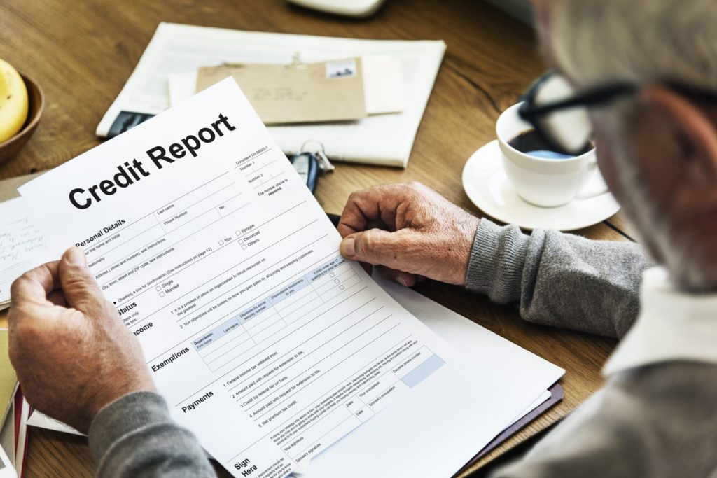 Credit report after bankruptcy and repossession