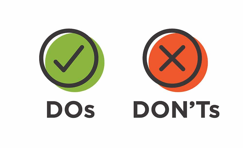 Bankruptcy resources - the do's and don'ts
