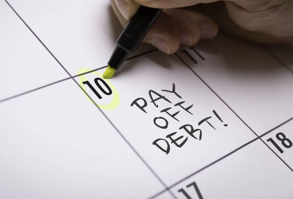 Chapter 13 bankruptcy repayment calendar